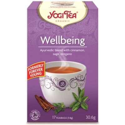 Yogi tea wellbeing (forever young)